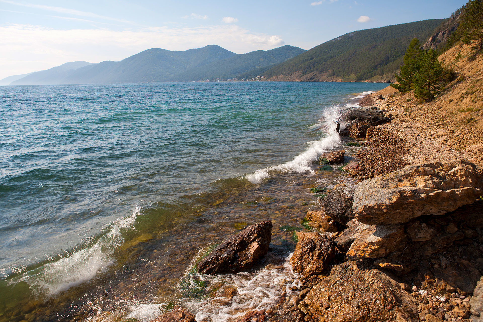 Baikal is the world's largest freshwater lake by volume, so it's definitely worth seeing before you die