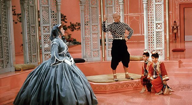 Yul Brynner en 'El Rey y yo' (1956).