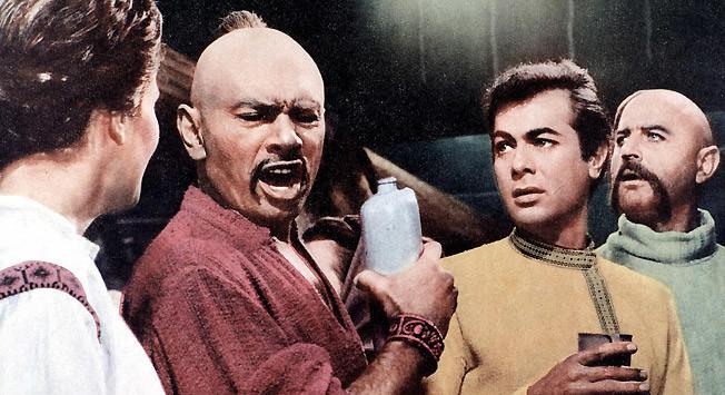 Yul Brynner en 'Tarás Bulba' (1962).