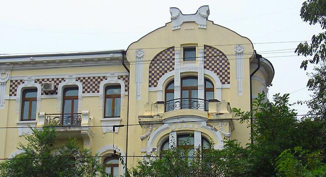 La mansión de la familia Brynner en Vladivostok.