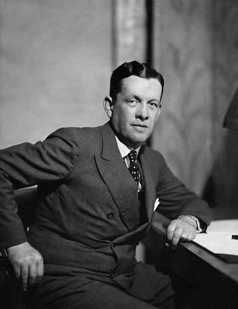 Bruce Lockhart en los años 1930.
