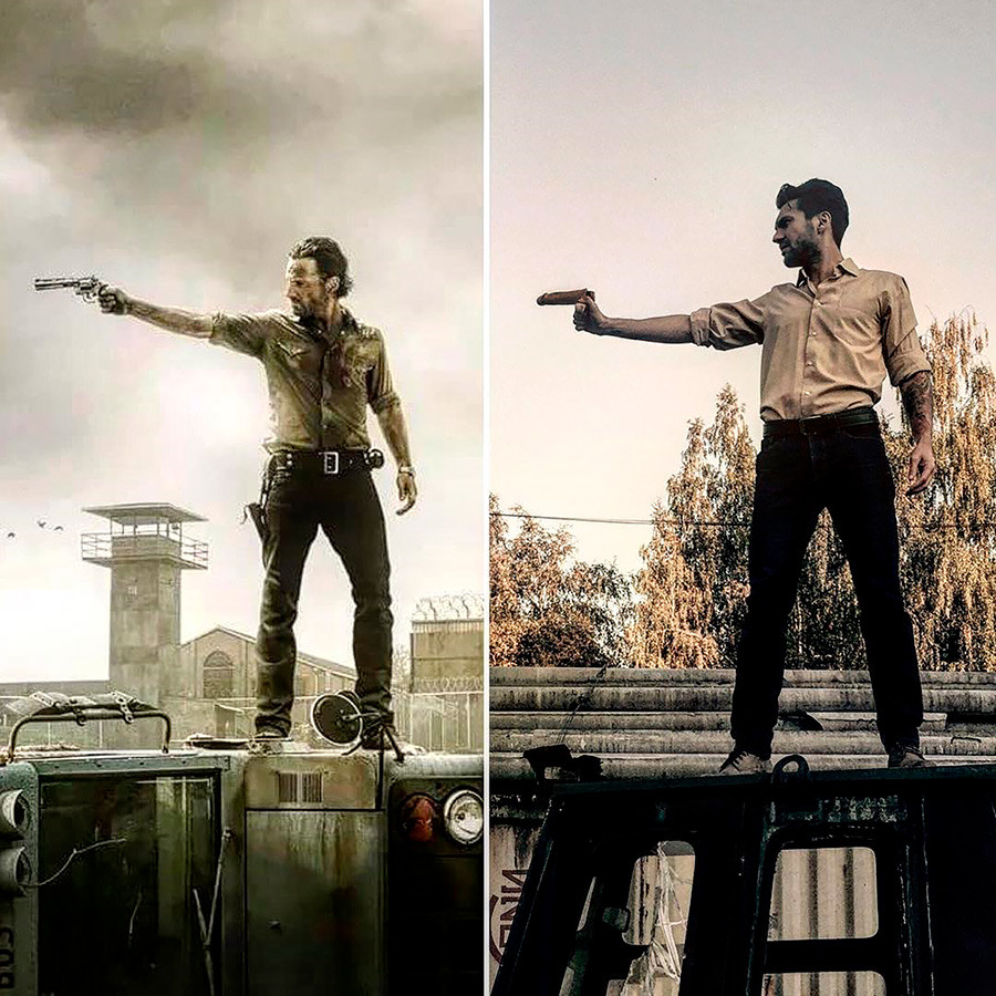 """The Walking Dead"", serie televisiva, di Frank Darabont, 2010"