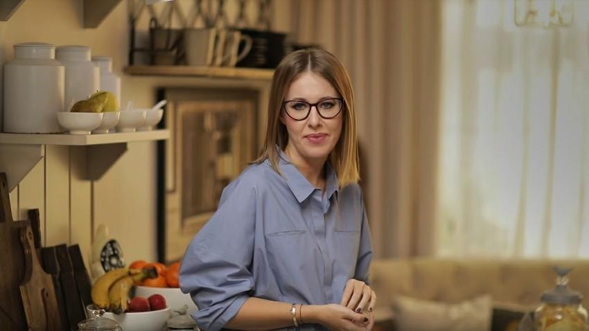 Une star télé est candidate — Présidentielle en Russie
