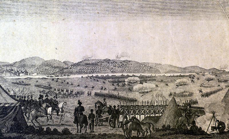Предавање на турската војска кај Слобоција.
