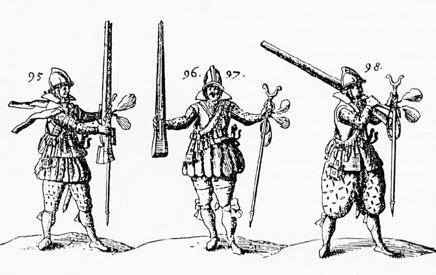 Борци на новоформираните полкови.