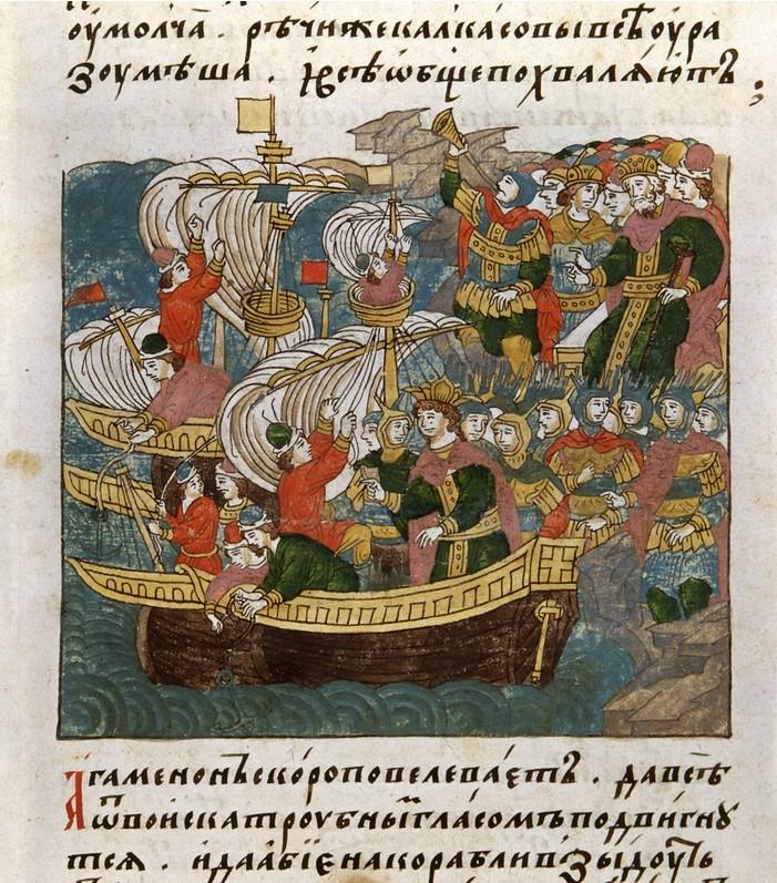 Flota Ivana IV. je bila precej uspešna v boju proti poljskim in švedskim ladjam.