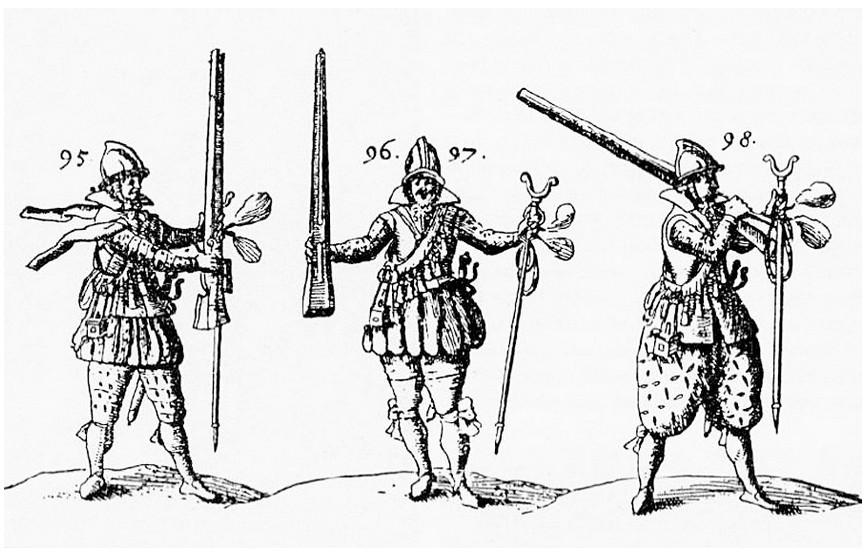 Bojevniki novooblikovanih polkov.