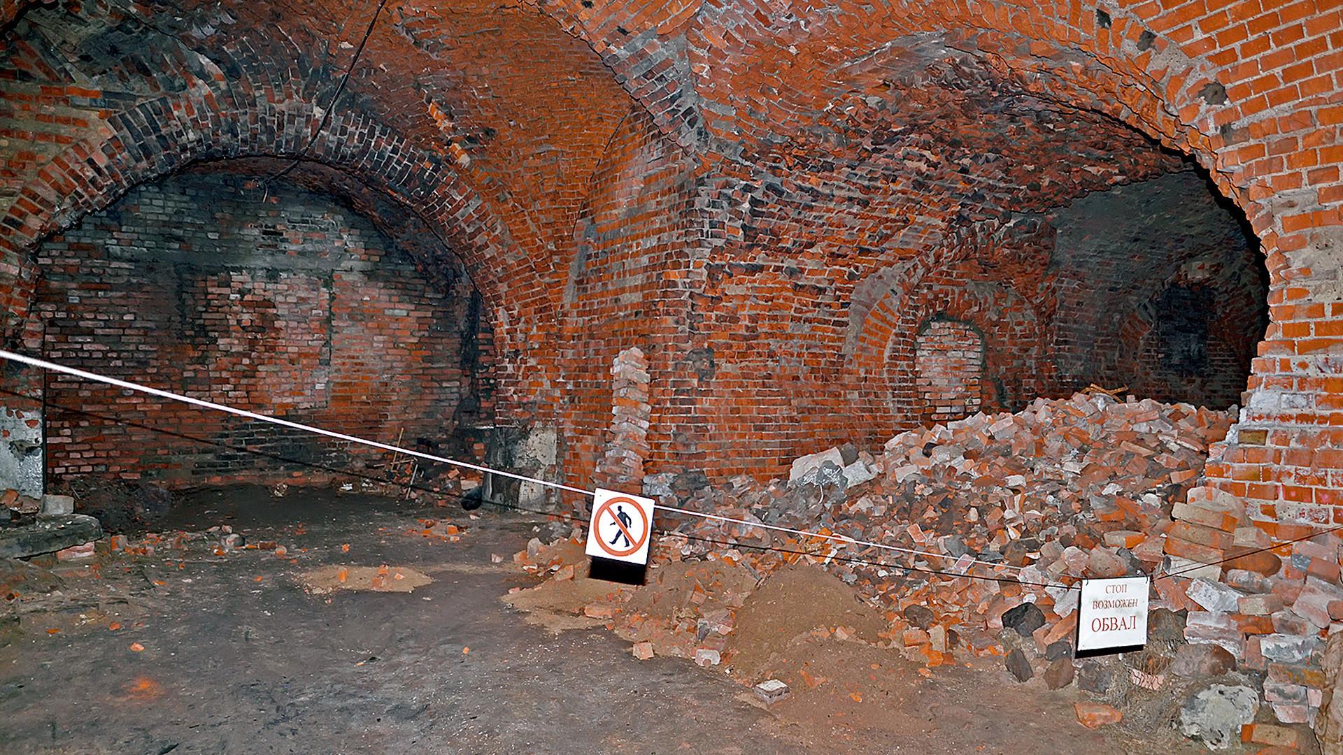 Reruntuhan Königsberg.
