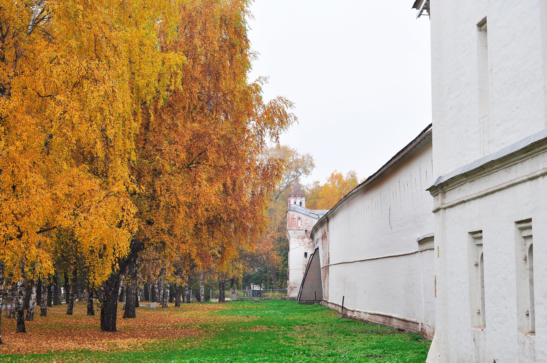 The Vologda Kremlin.