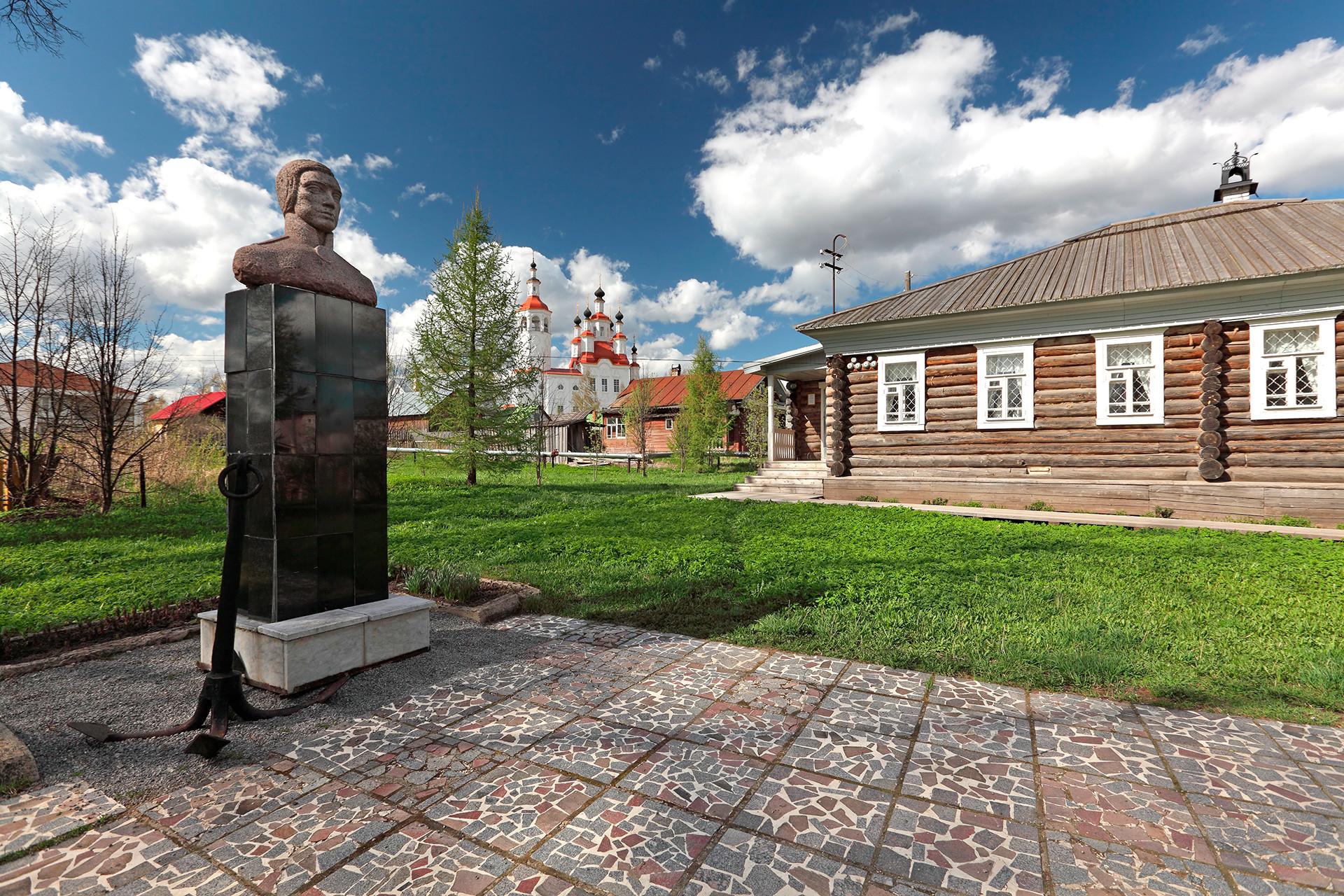 The Kuskov museum in Totma.