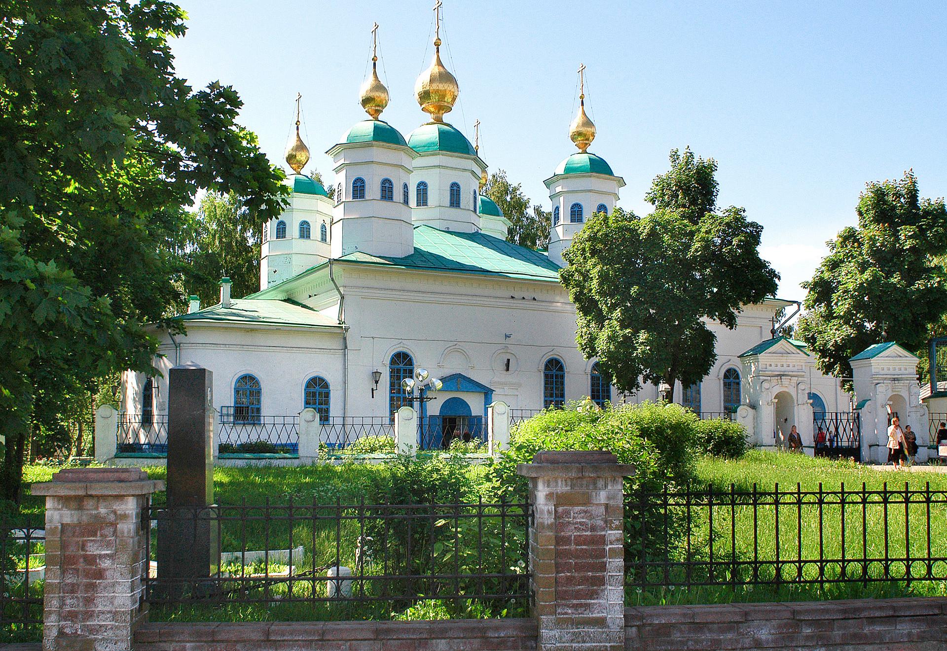 La Catedral de la Resurrección en Cherepovets.