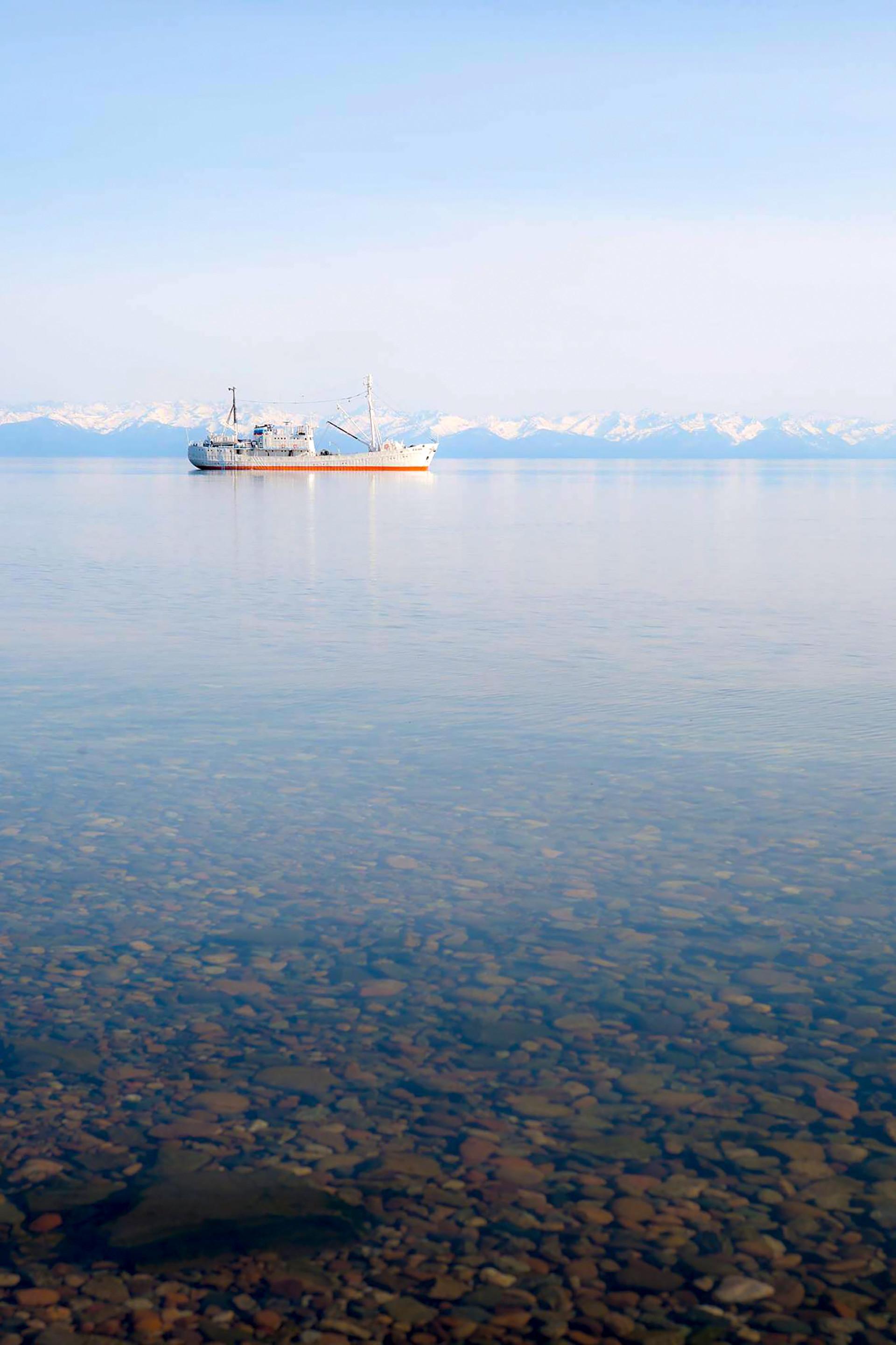 Pogled na Bajkal.