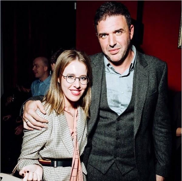 Ksenija Sobčak in Maksim Vitorgan.