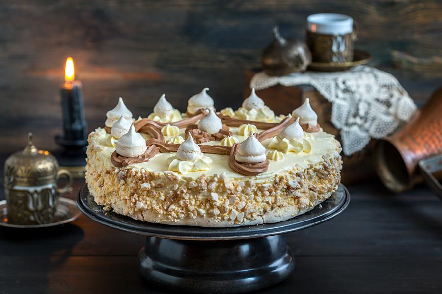 「ポリョト」ケーキ