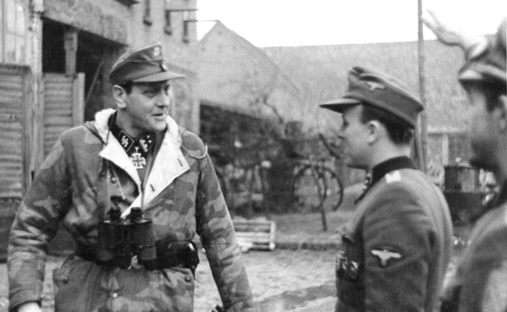 Otto Skorzeny, que treinou o assassino de Stalin. / Deutsches Bundesarchiv