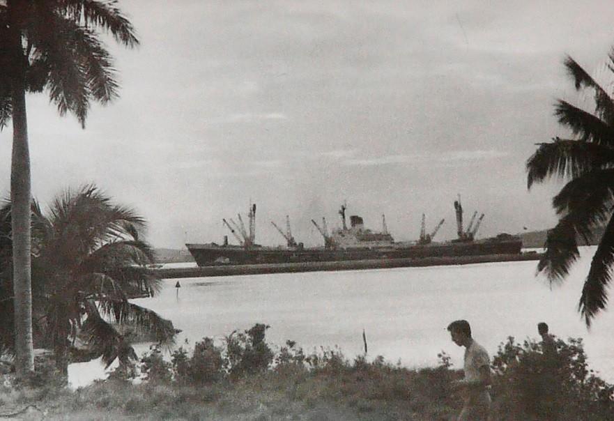 Sovjetska tovorna ladja, Kuba