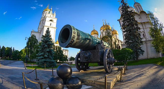 Die Größte Kanone Der Welt