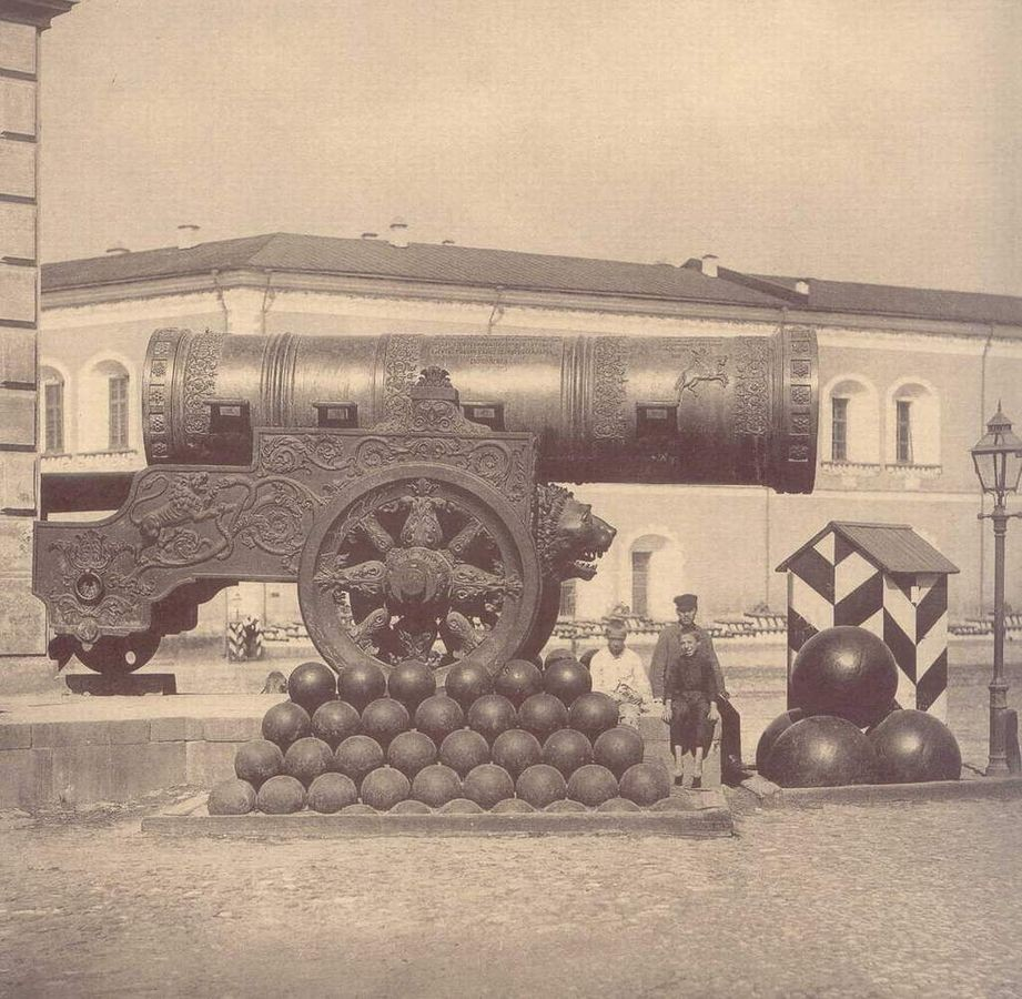 Die Zarenkanone im 19. Jahrhundert