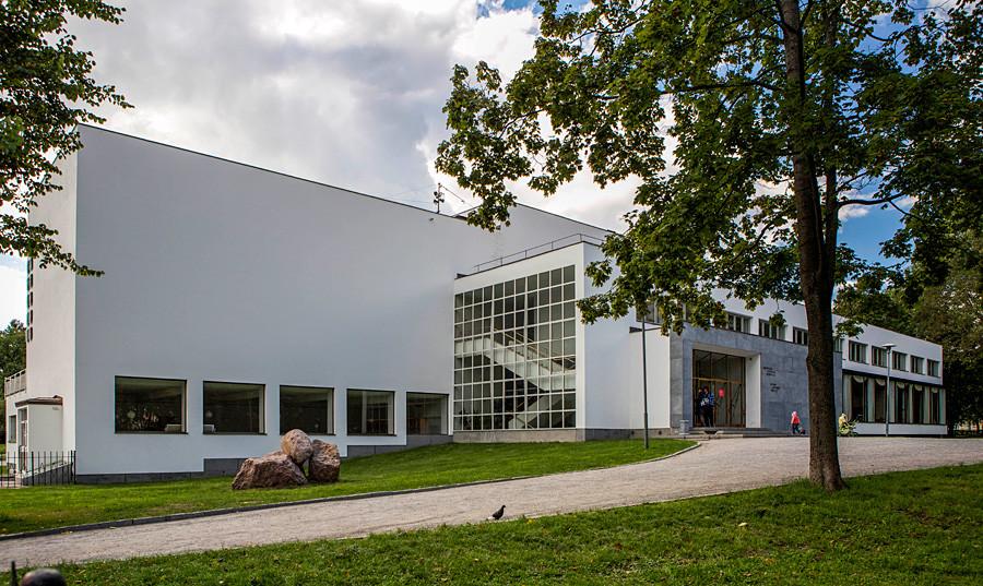 Alvar Aalto Library in Vyborg.