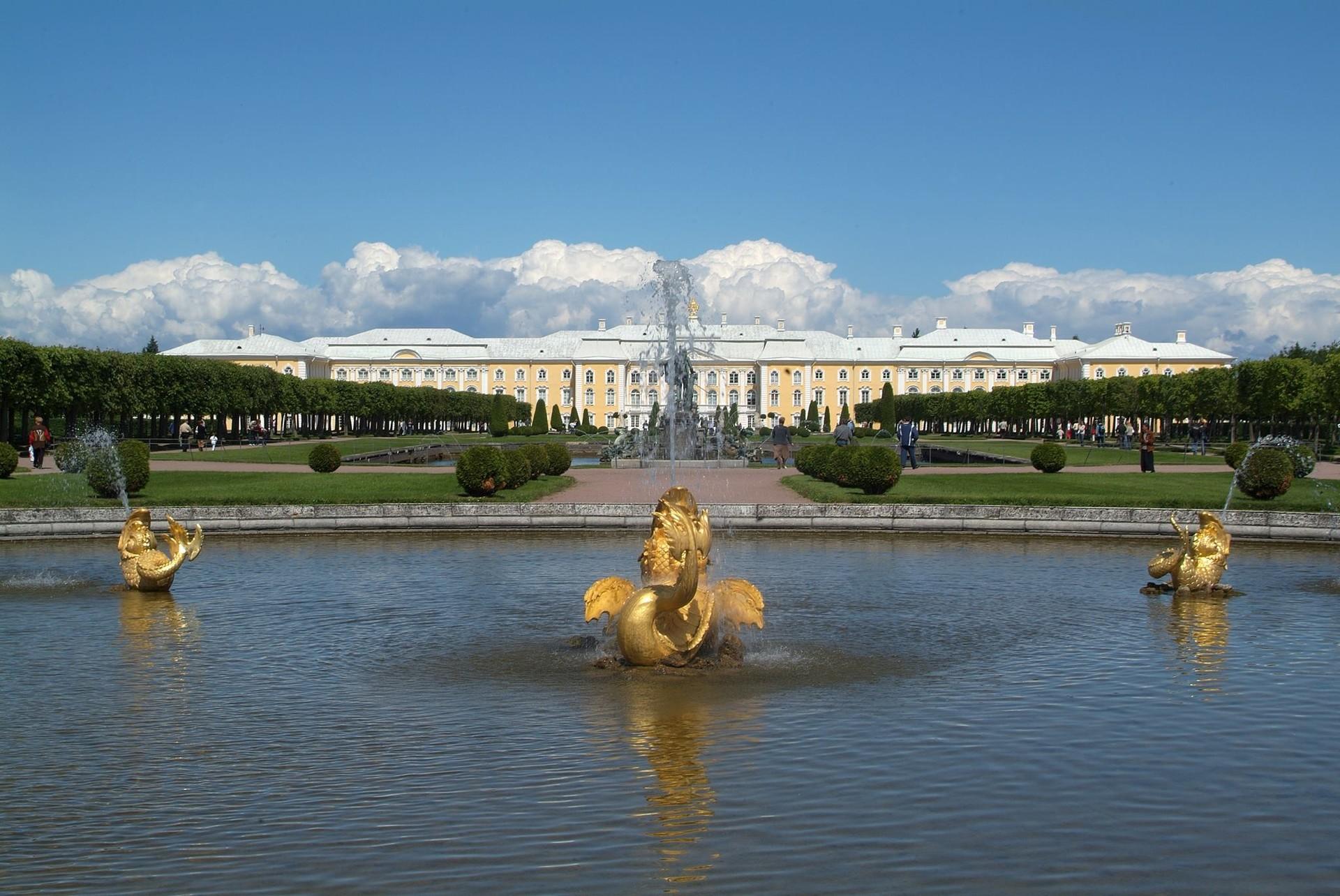 Peterhof, Puškin (bivše Carsko selo)