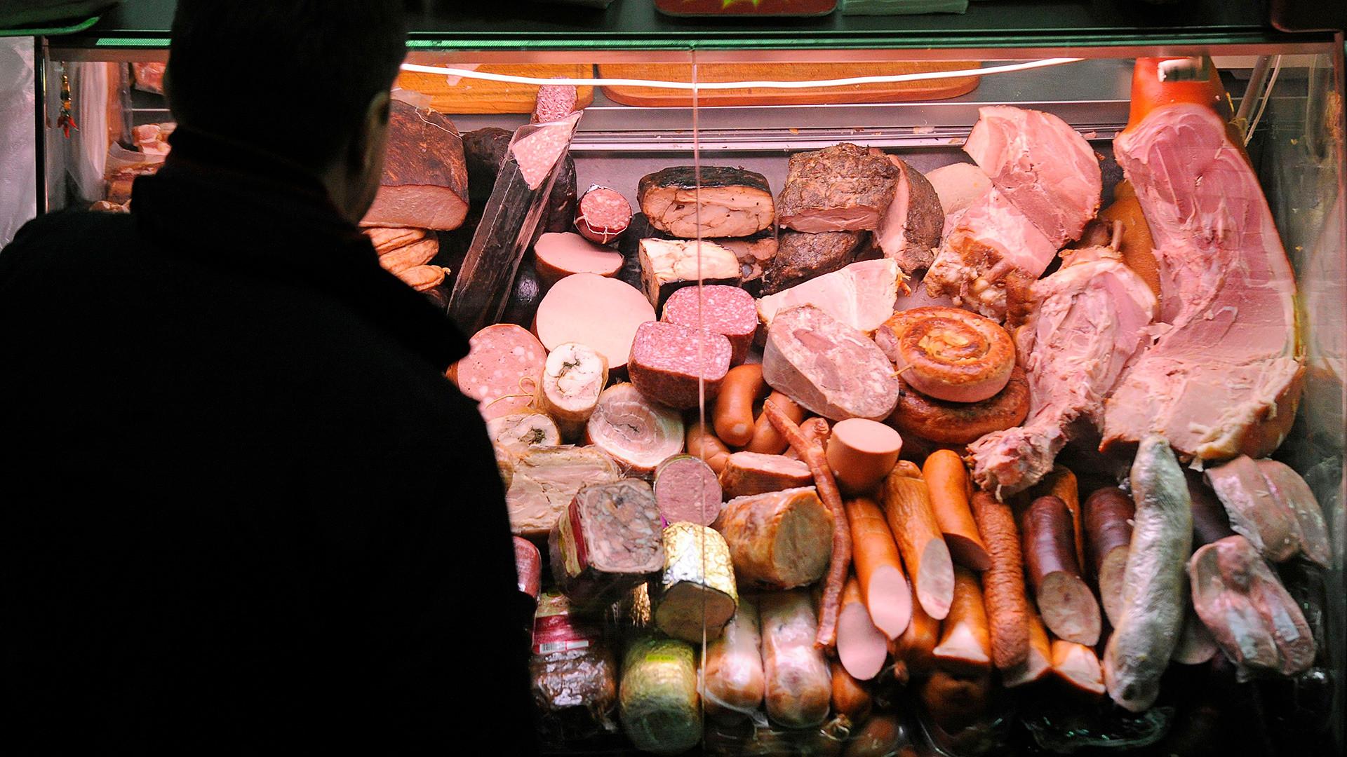 Se recomienda comprar carne en el mercado Dorogomílovski.