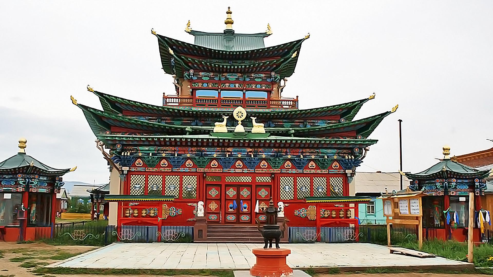 Palácio de Pandito Hambo Lama Itiguilov.