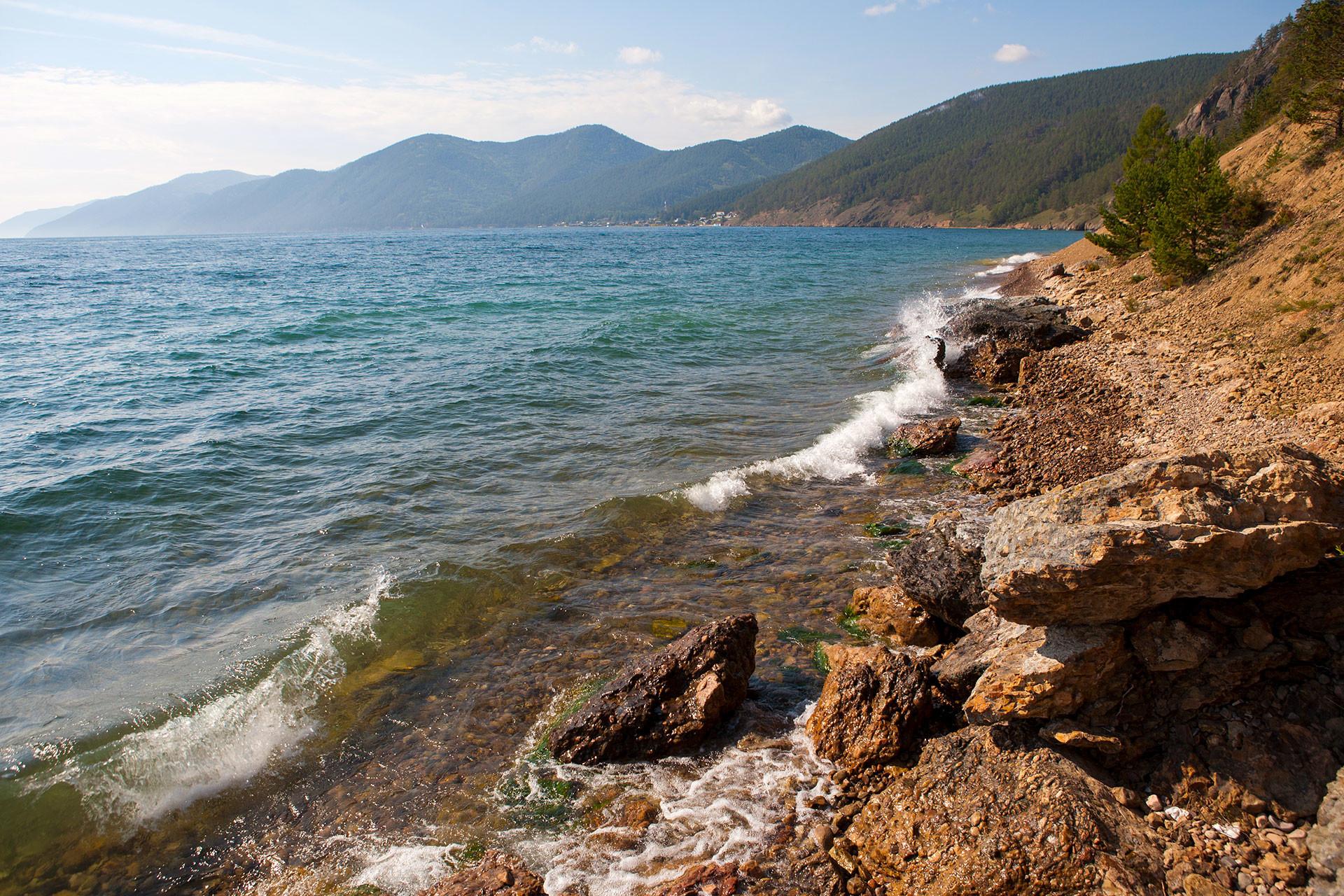 バイカル湖。