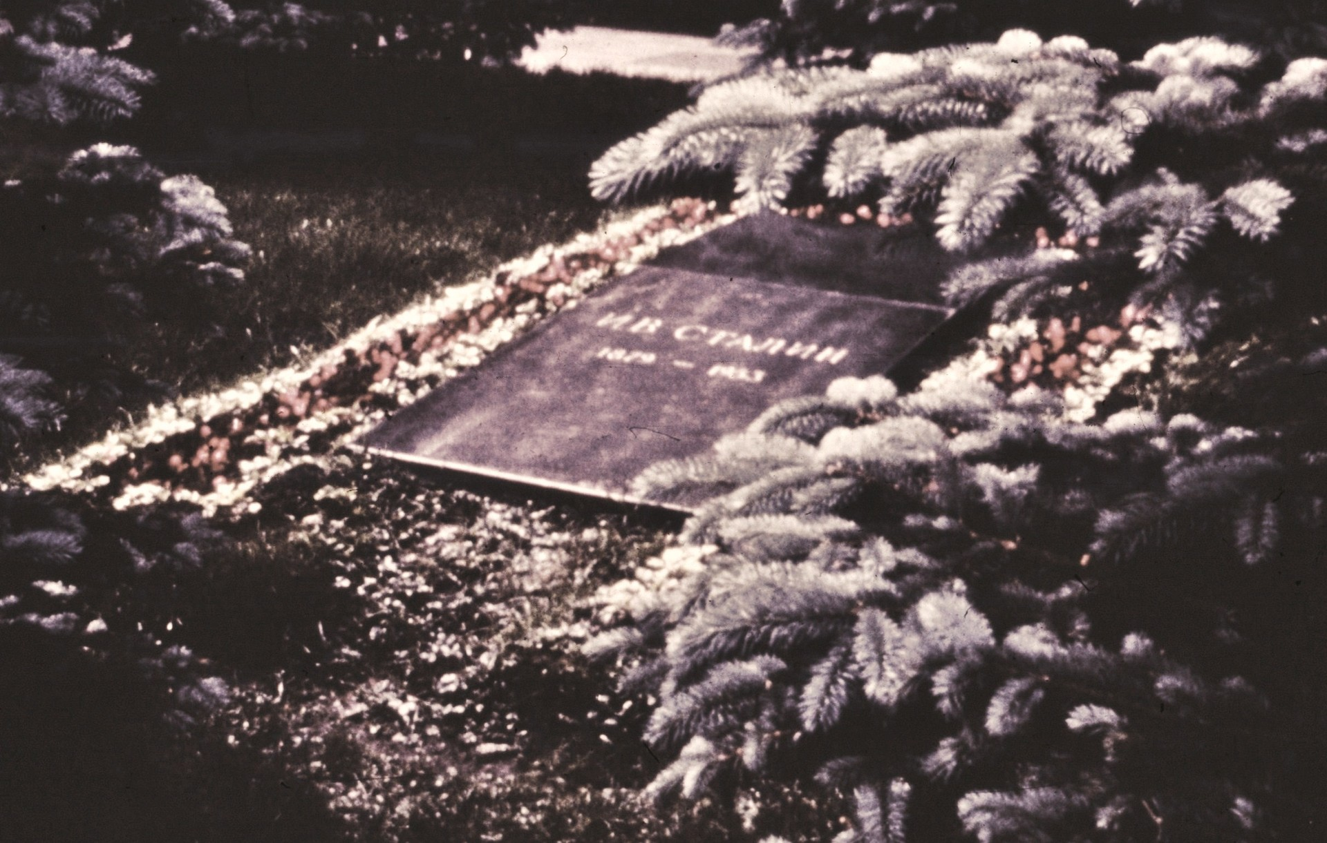 Stalins Grab an der Kremlmauer, 1965