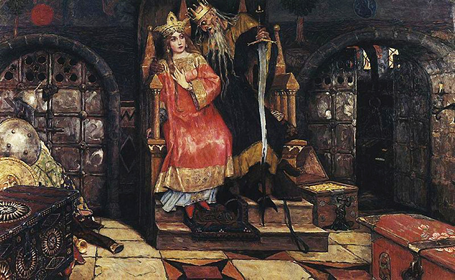 Koschei the Deathless by Viktor Vasnetsov