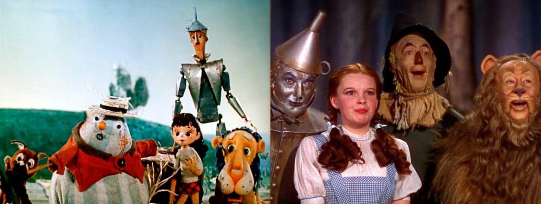 O Mágico da Cidade de Esmeralda e O Mágico de Oz.