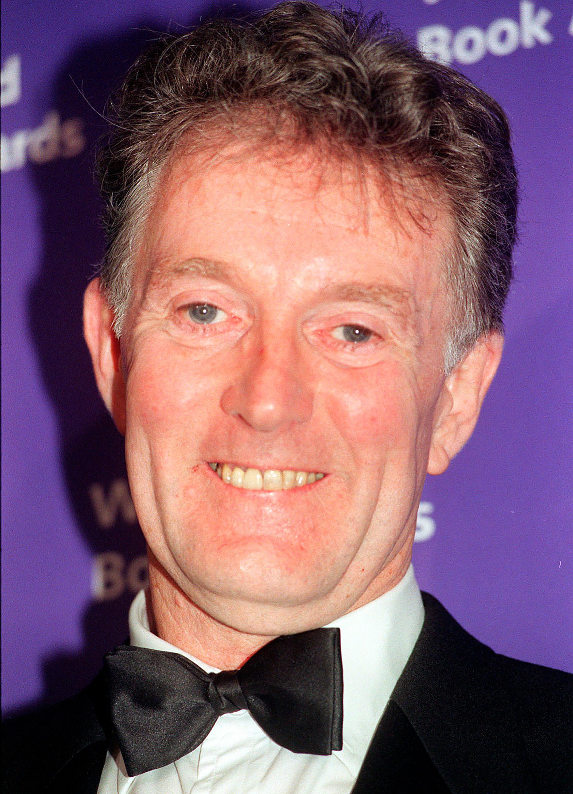 Writer James Riordan in 1999