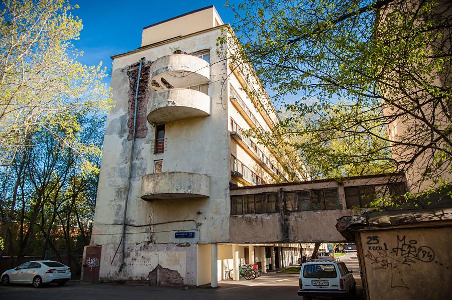 zehn highlights des sowjetischen konstruktivismus inspiriert vom schweizer le corbusier. Black Bedroom Furniture Sets. Home Design Ideas
