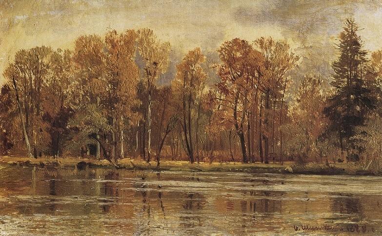 Ivan Šiškin, Zlata jesen (1888)