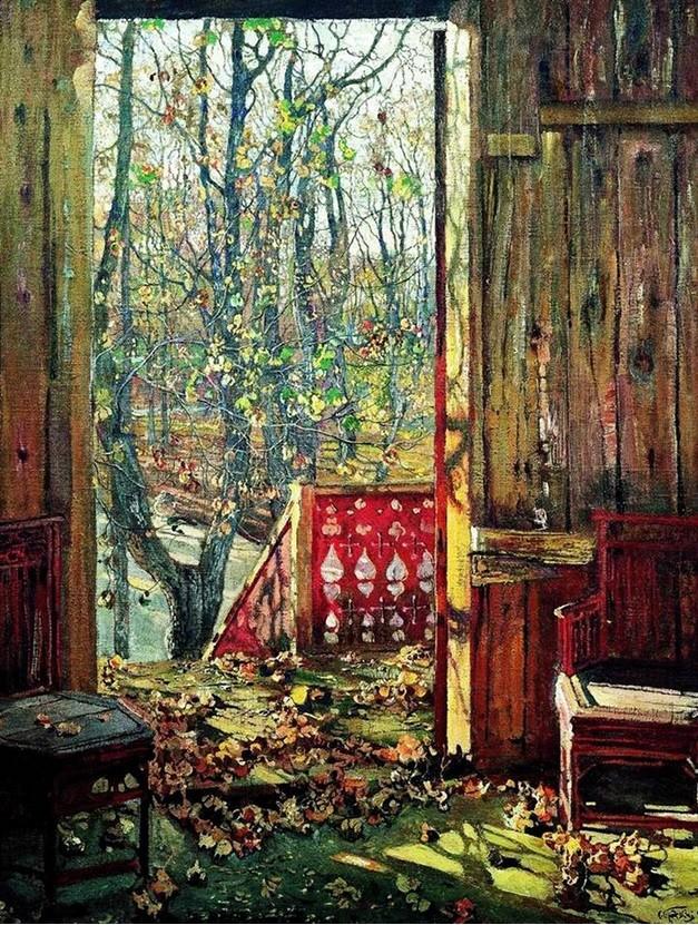 Isaak Brodski, Odpadlo listje (1913)