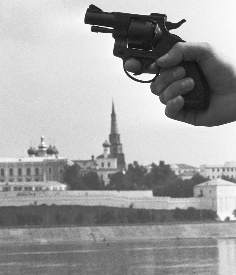 Kazan sredi devetdesetih let prejšnjega stoletja.