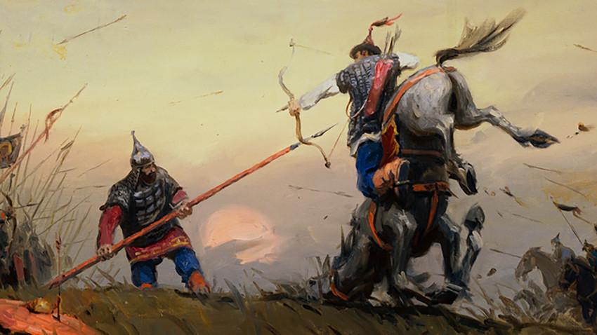 Странната битка на Русия на река Угра през 1480 г. води до независимостта на страната и до появата на нова единица на европейската политическа карта.