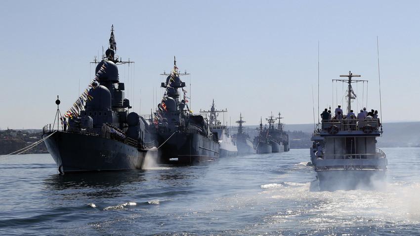 Brodovi ruske ratne mornarice.