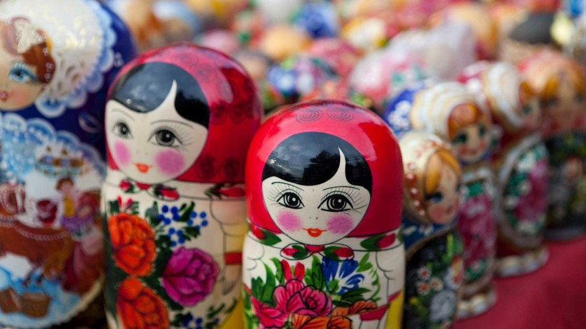 The Russian doll is one of the most recognizable symbols of Russia