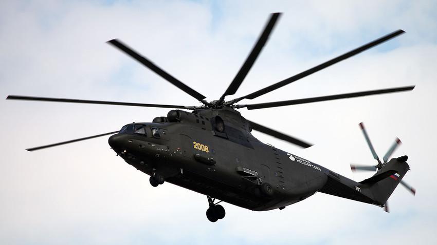 Helicóptero ruso Mi-26T2.