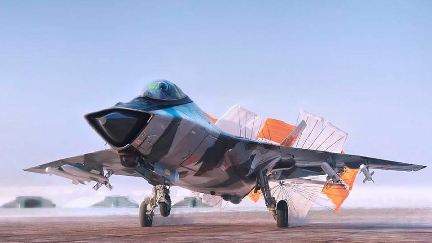 Ловец од петта генерација Су-57 (Т-50)
