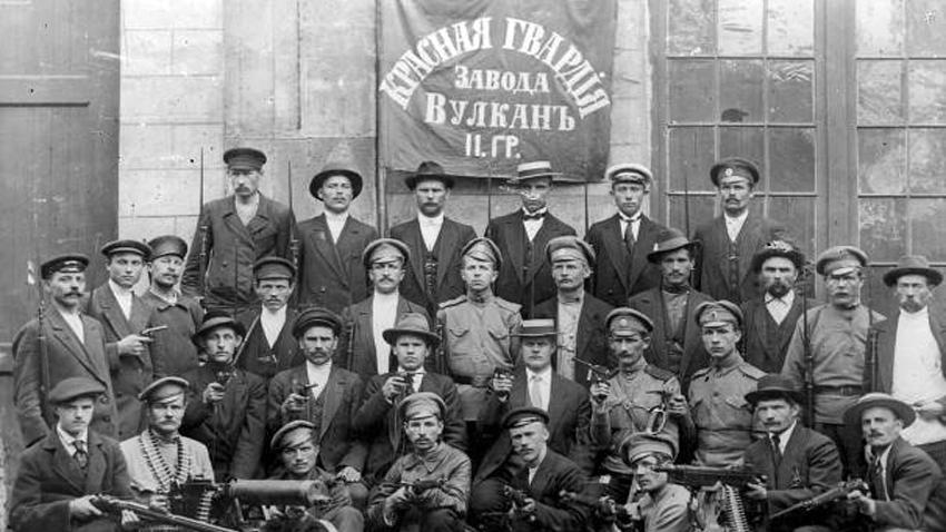 Rdeče straže v Petrogradu.