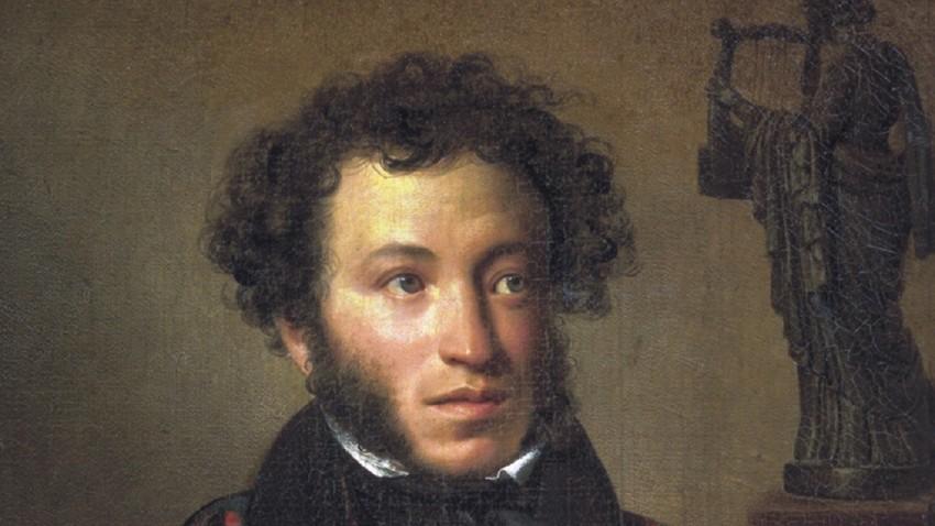 Orest Kiprenski, portret Aleksandra Sergejeviča Puškina, 1827.
