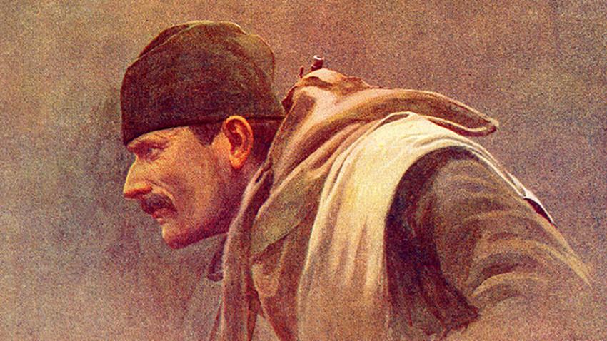 Легендарни портрет извиђача Драгутина Матића.