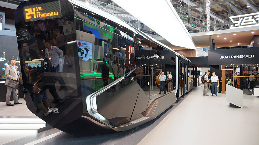 The R1 tram was unveiled on July 9.