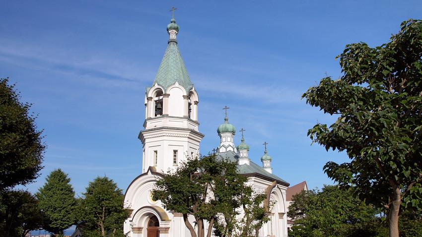 Православни храм у Хокадатеу.