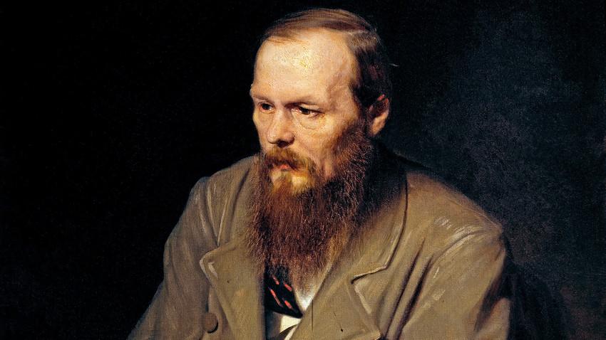 Dostoiévski era viciado em apostas, perdendo muitas de suas posses nas roletas. Retrato do escritor por Vassíli Perov.