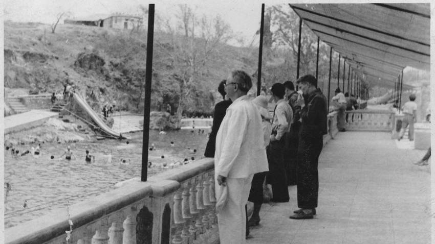 Trotzki 1938 in Mexiko