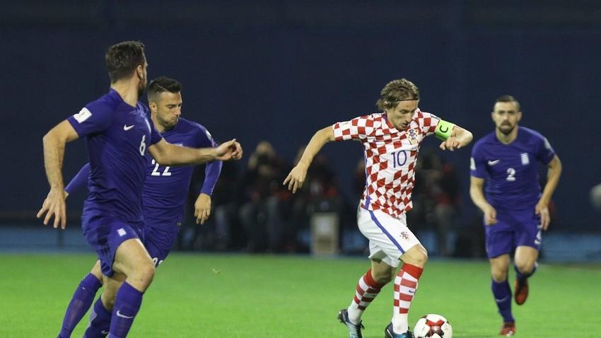 Luka Modrić, maksimir 9.11.2017