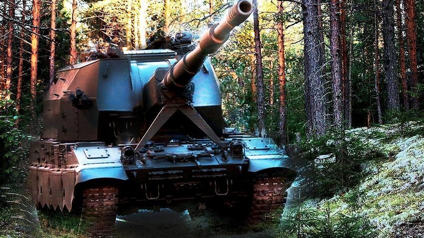 """Хаубица 2С35 """"Коалиција-СВ""""."""
