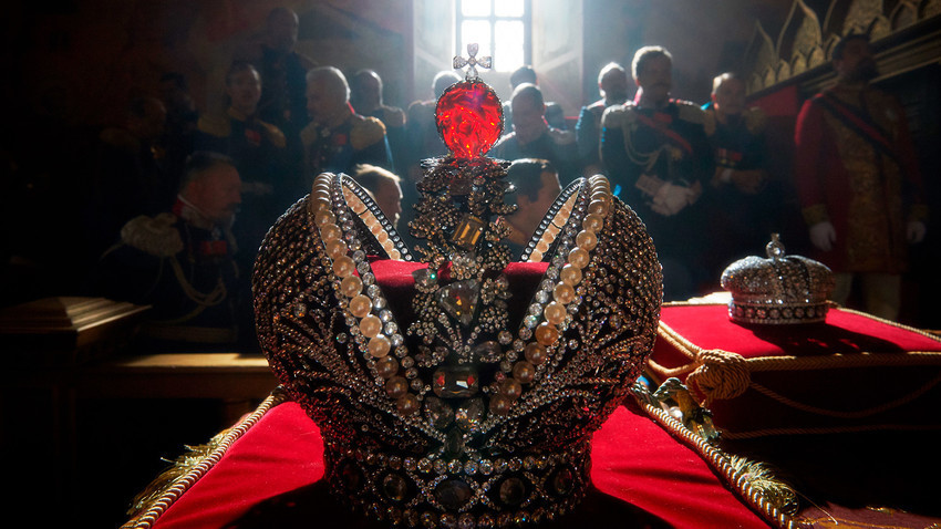Mahkota Kekaisaran Rusia.
